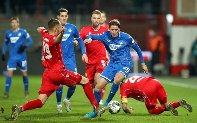 Die TSG Hoffenheim fährt nach vier sieglosen