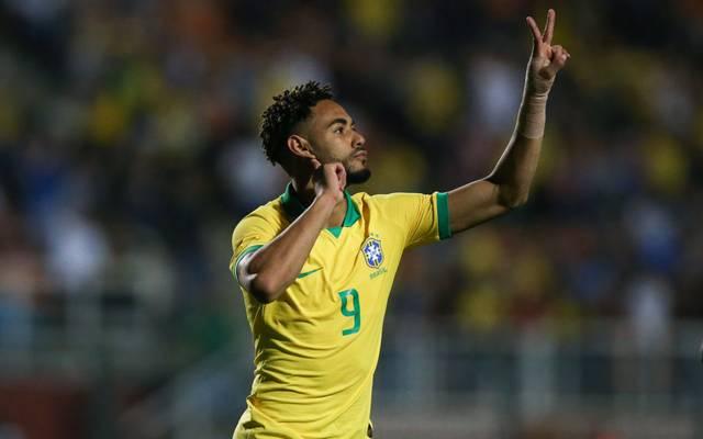 Matheus Cunha zeigt sich im Dress der Selecao weiter treffsicher