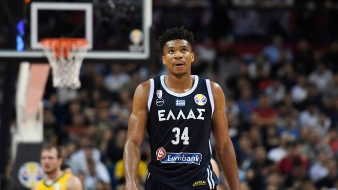 War bedient: NBA-MVP Giannis Antetokounmpo