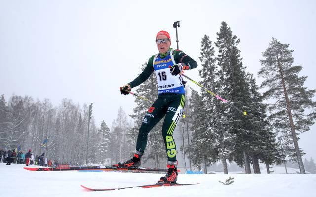 Franziska Preuß landet auf dem vierten Platz