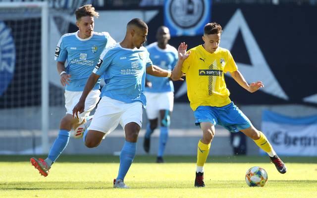 Im Spiel der Hinrunde unterlag Jena dem CFC mit 2:3