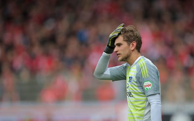 Julian Pollersbeck konnte sich bislang beim HSV nicht durchsetzen