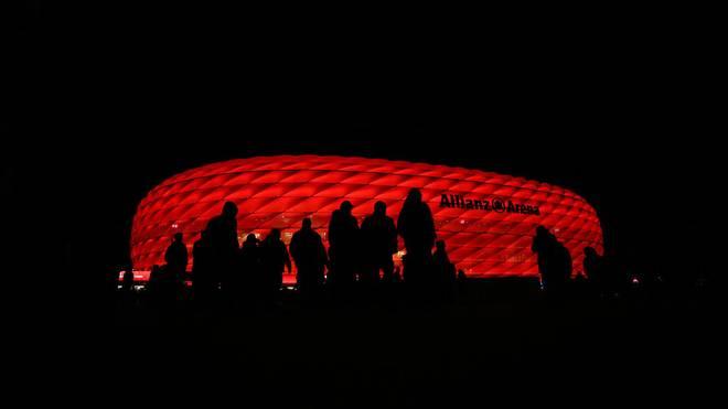 Einige Anhänger von Roter Stern Belgrad fielen in München unangenehm auf