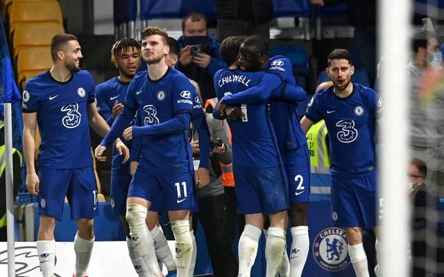 Der FC Chelsea um Timo Werner (vorn) besiegte Leicester City - auch dank eines Treffers von Antonio Rüdiger