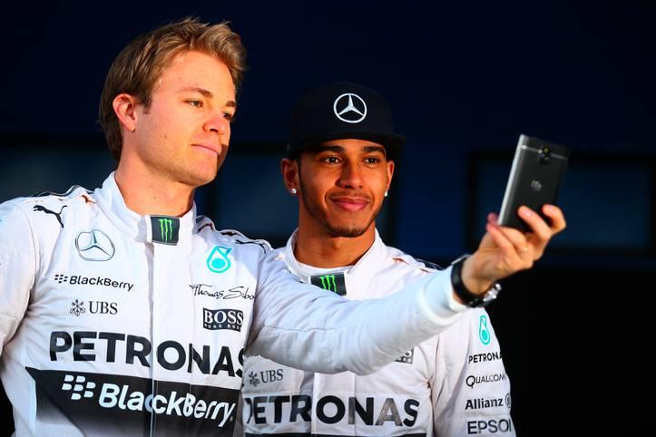 """""""Sebastian sieht dieses Jahr häufig nur mein Rücklicht."""" Diese selbstbewusste Aussage von Nico Rosberg ist keine zwei Wochen alt"""