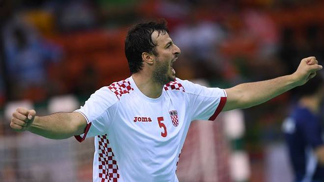 Domagoj Duvnjak ist der Star und Kapitän der Kroatischen Nationalmannschaft