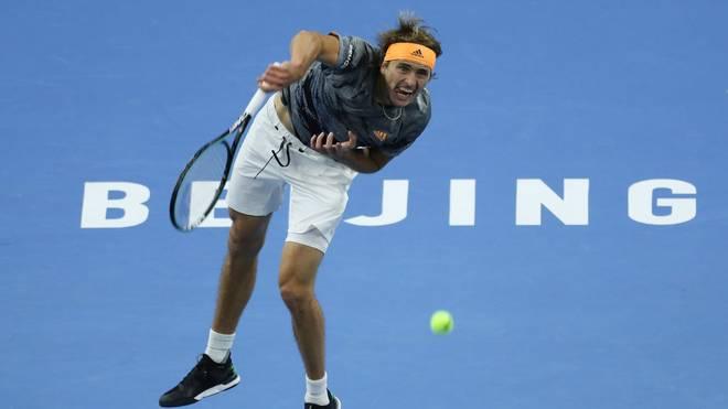 Alexander Zverev steht im Halbfinale von Peking