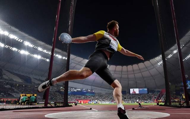 Christoph Harting bleibt im Finale erneut nur die Zuschauerrolle
