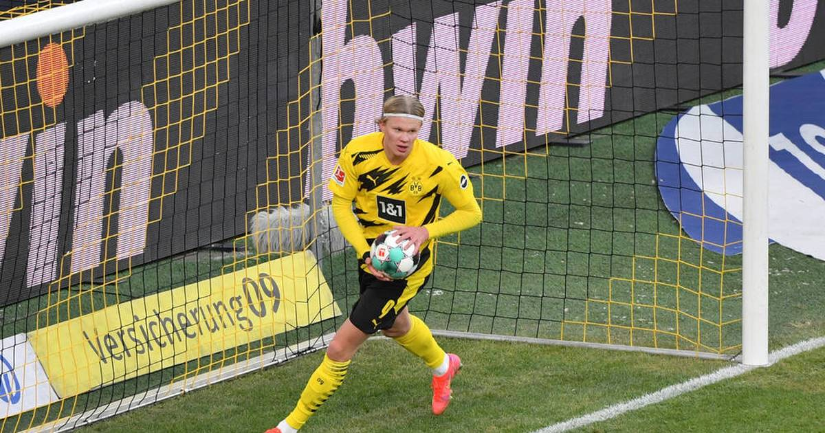 BVB: Erling Haaland wird von United-Trainer Solskjaer beobachtet - SPORT1