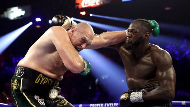 Boxen: Rückkampf zwischen Fury und Wilder wegen Corona verlegt