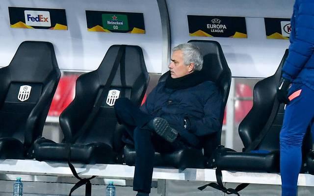 José Mourinho ist trotz der guten Form seiner Mannschaft nicht gänzlich zufrieden