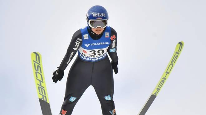 Carina Vogt landet in Hinzenbach auf Platz elf
