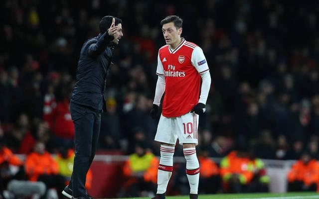 Mikel Arteta widerspricht Mesut Özil mit klaren Worten