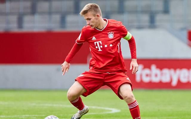 Torben Rhein ist Kapitän der U19 des FC Bayern
