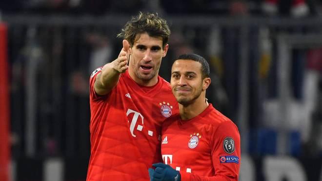 Javi Martínez steht beim FC Bayern vor dem Abgang