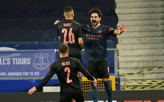 Ilkay Gündogan erzielt für Manchester City einen Treffer