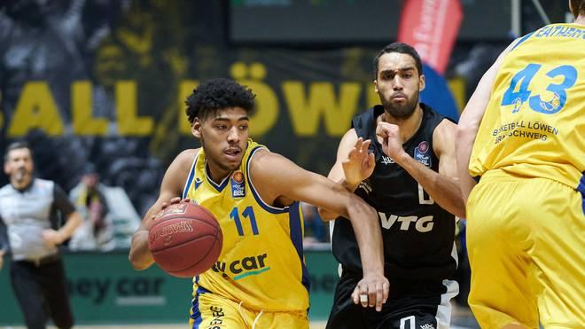 Kostja Mushidi gilt als große deutsche Basketballhoffnung