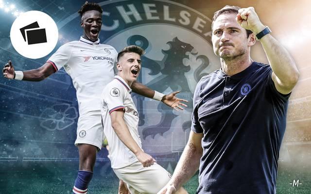Chelsea-Coach Frank Lampard baut derzeit ein neues Team auf