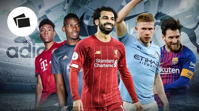 Mo Salah (M.) darf sich über Liverpools lukrativen neuen Ausrüstervertrag freuen