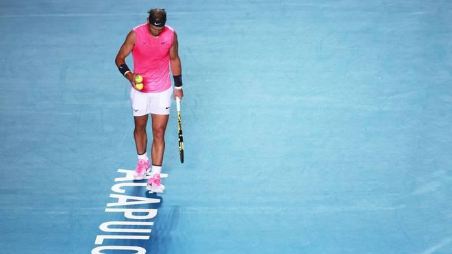 Die Tennis-Stars um Rafael Nadal haben mindestens für die nächsten sechs Wochen Zwangspause