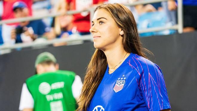 Alex Morgan wurde mit den USA 2019 Weltmeister