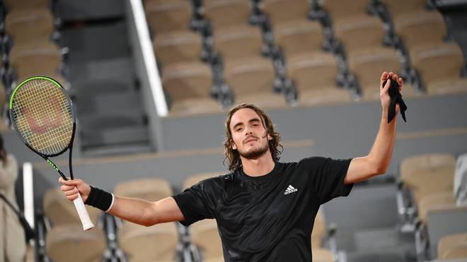 Stefanos Tsitsipas steht im Halbfinale der French Open