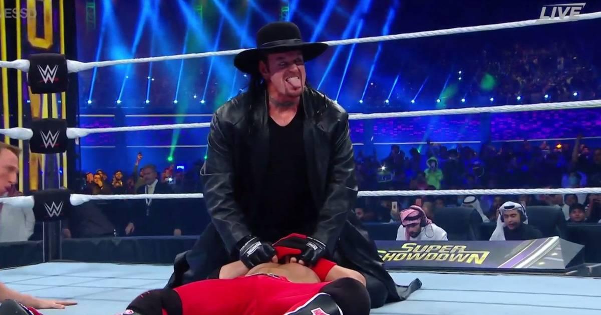 WWE: Undertaker gibt Comeback bei Super ShowDown in Saudi-Arabien
