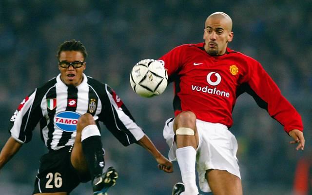 Juan Sebastian Véron spielte von 2001 bis 2003 bei Manchester United