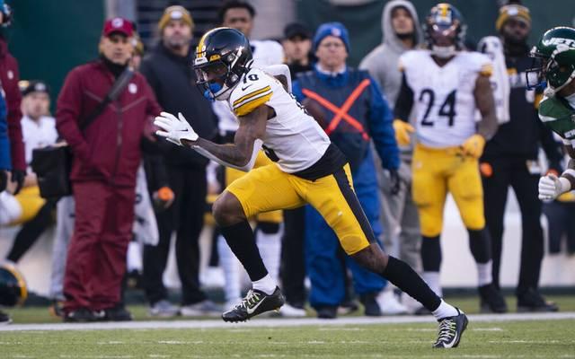 Diontae Johnson von den Pittsburgh Steelers geht in seine zweite NFL-Saison