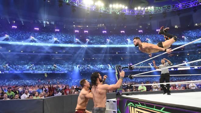 Finn Balor dürfte bei der WWE-Show in Saudi-Arabien nicht mit Regenbogen-Farben fliegen
