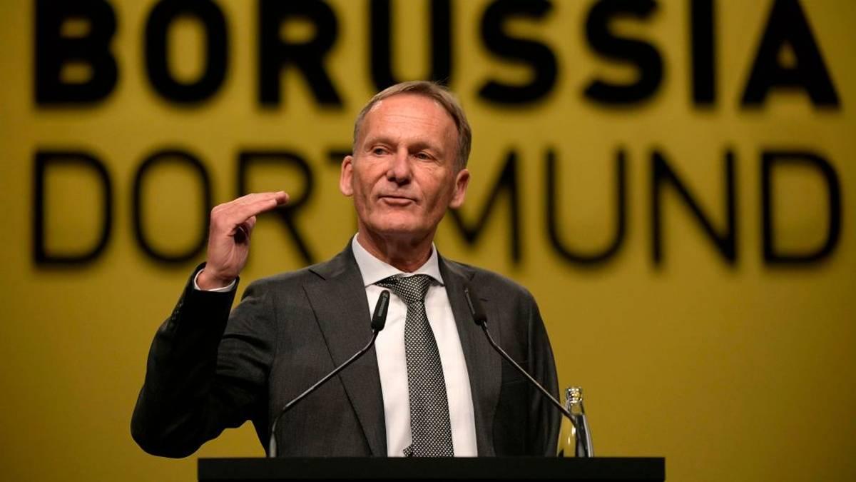 Hans-Joachim Watzke spricht über die Corona-Fälle in Dresden