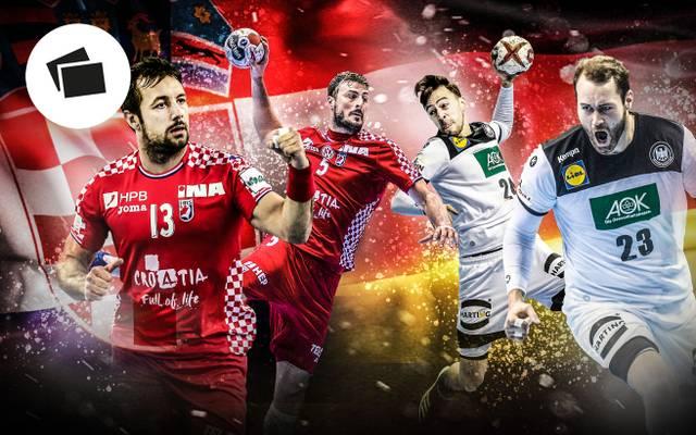 Handball-WM 2019: Deutschland - Kroatien im Head-to-Head