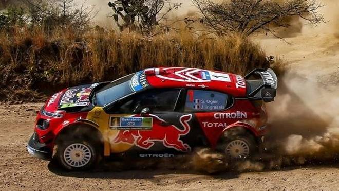 Sebastien Ogier ist bei der Rallye Mexiko weiter der Gejagte