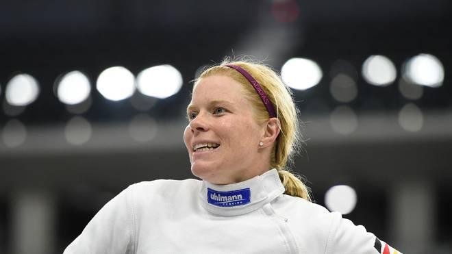 Annika Schleu ist zum vierten Mal Deutsche Meisterin