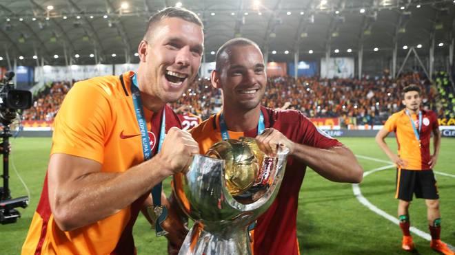 Lukas Podolski Wesley Sneijder