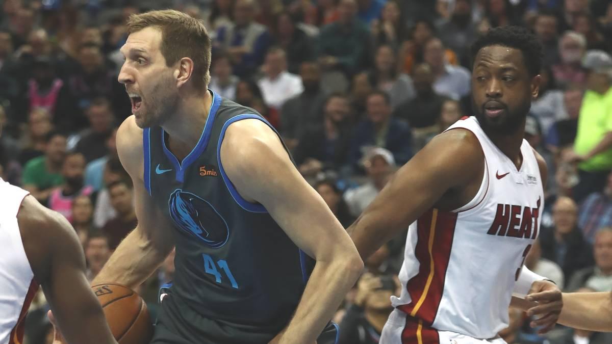 Dirk Nowitzki und Dwyane Wade - zwei NBA-Legenden