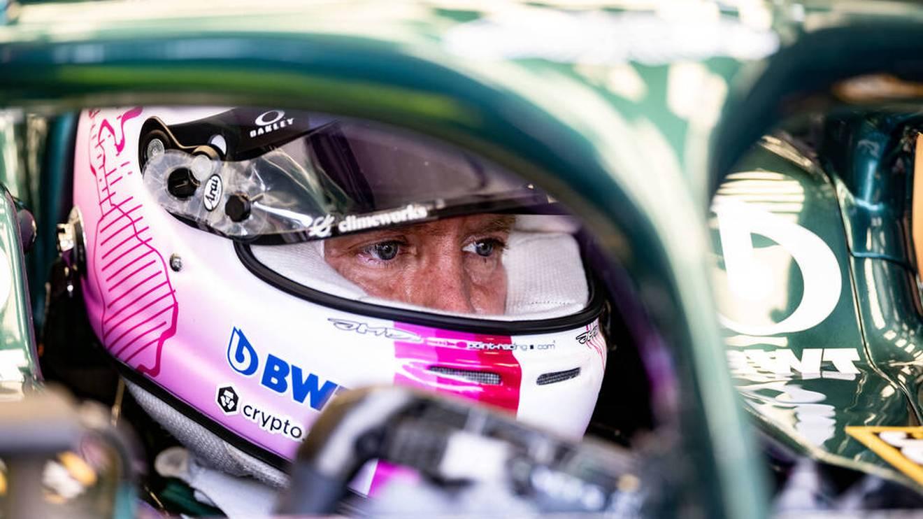 Aston-Martin-Pilot Sebastian Vettel ist viermaliger Formel-1-Weltmeister