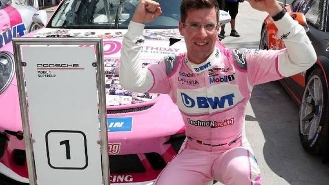 Michael Ammermüller gewann auf dem Hungaroring