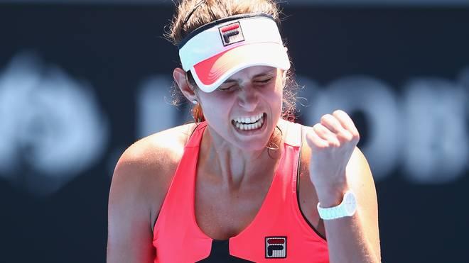 Julia Görges kam bei den Australian Open bis ins Achtelfinale