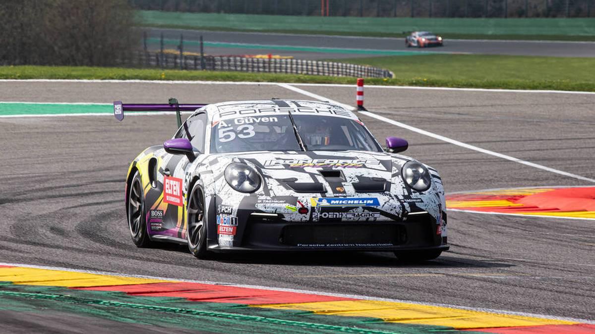 Ayhancan Güven feierte seinen ersten Saisonsieg im Porsche Carrera Cup Germany