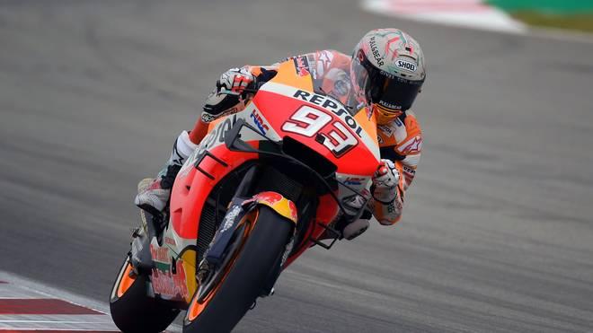 Honda-Pilot Marc Márquez könnte sich in auf dem Circuit de Barcelona-Catalunya den nächsten Heimsieg sichern