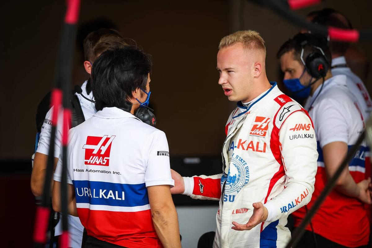 Nikita Mazepin ist im Haas in der Formel 1 kaum konkurrenzfähig. Trotzdem sorgt er regelmäßig für Aufsehen - so auch beim Großen Preis der USA.