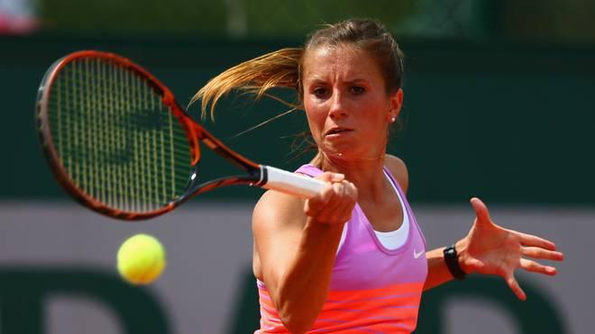 Annika Beck fordert die Serbin Jelena Jankovic im Viertelfinale