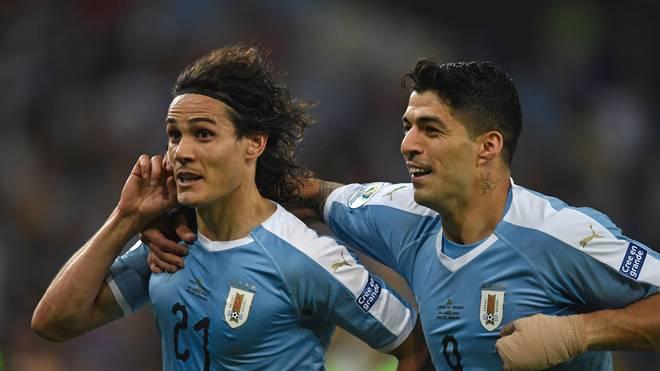 Uruguay, Edinson Cavani, Luis Suarez, Copa America