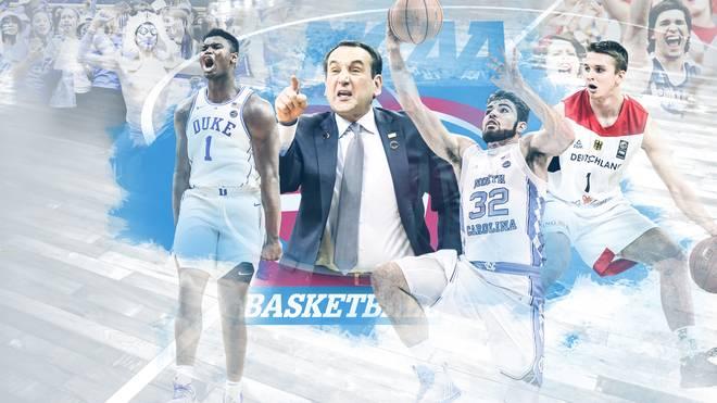 Basketball-Phänomen Zion Williamson (l.) ist mit Duke einer der Titelfavoriten der neuen College-Saison