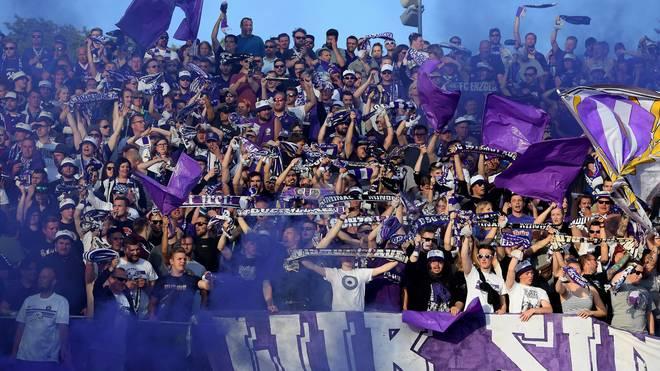 Die Fans von Erzgebirge Aue