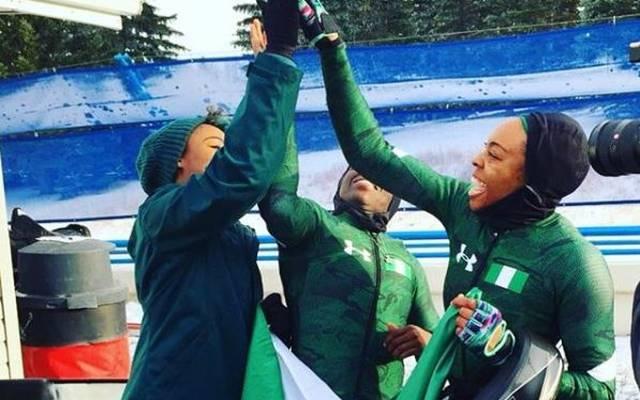 Das nigerianische Bob-Team reist zu den olympischen Spielen 2018