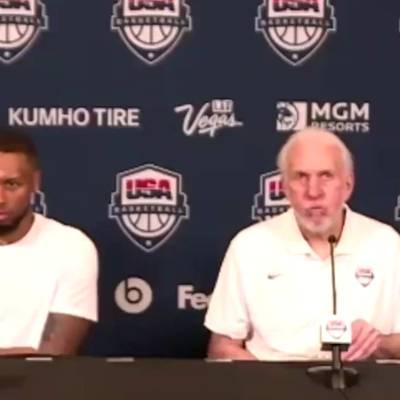 """""""Respektlos!"""" US-Coach Popovich weist Reporter zurecht"""