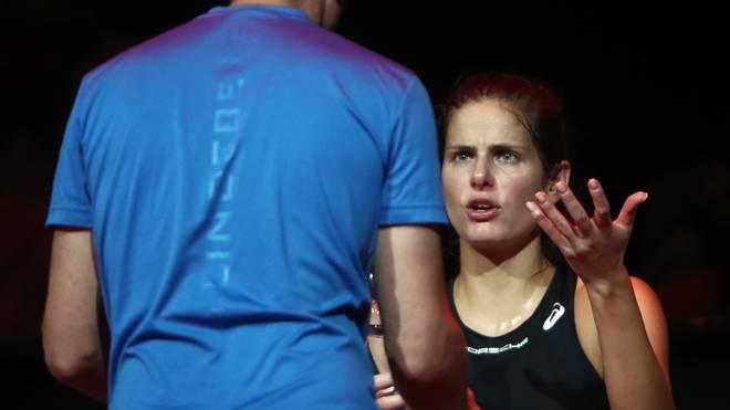 "Tennis: Julia Görges vor Rätsel -  ""Spüre meine Finger nicht"""