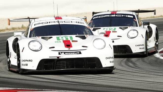 Beim Prolog in Barcelona waren die neuen Porsche konkurrenzfähig